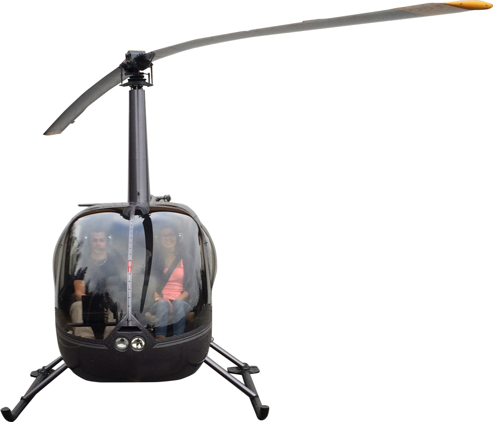 Hélicopter front